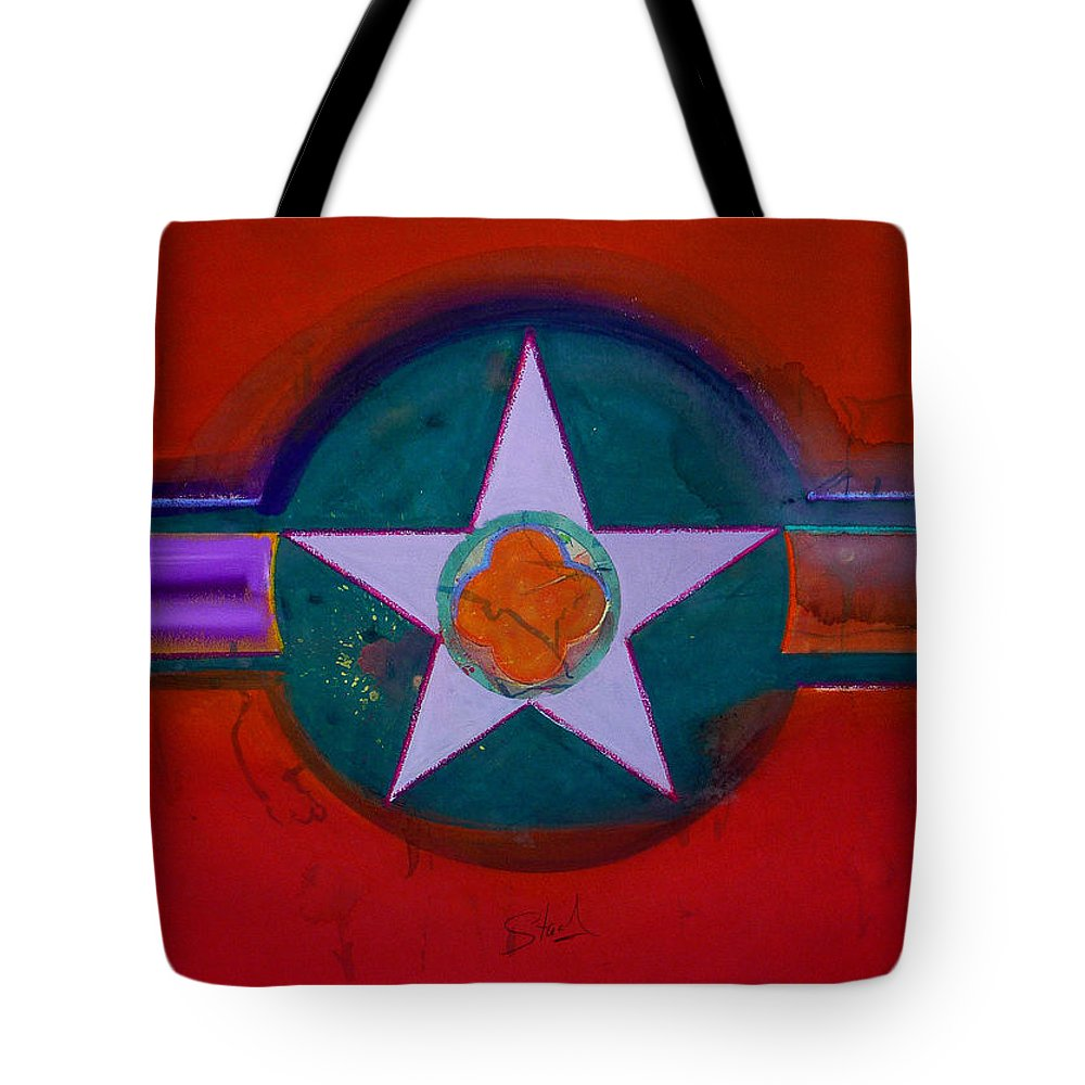 Star Tote Bag featuring the painting American Chinoiserie by Charles Stuart