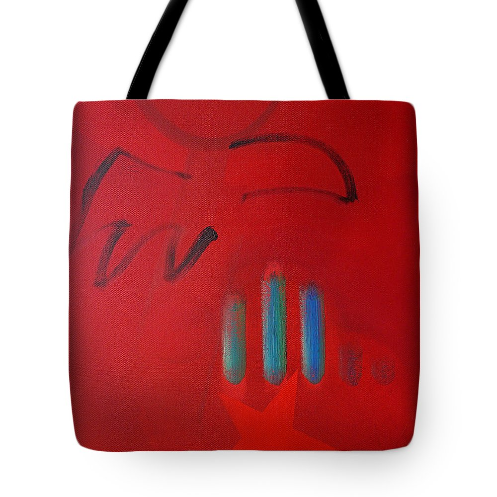 Native American Tote Bag featuring the painting American Eagle by Charles Stuart