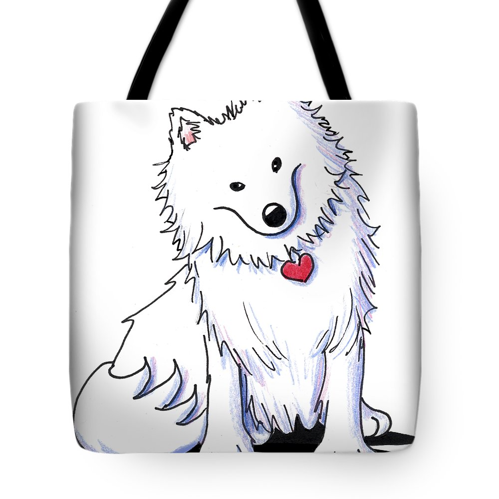 Canvas Shopping Tote Bag Indian Spitz Indian Spitz Dog Beach Bags for Women