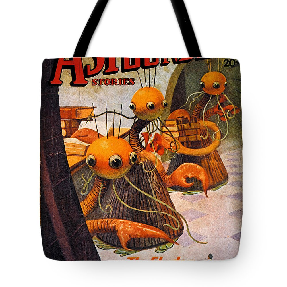 1936 Tote Bag featuring the photograph American Magazine Cover by Granger
