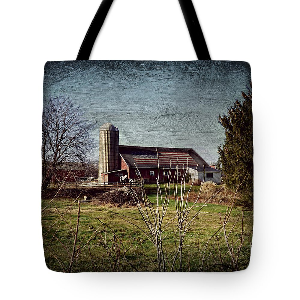 Barn Tote Bag featuring the photograph American Pie by Scott Ward