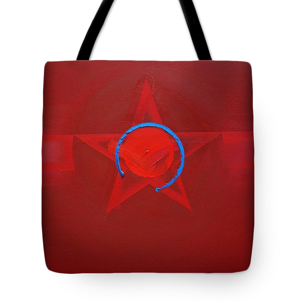Usaaf Insignia Tote Bag featuring the painting American Sky Blue by Charles Stuart