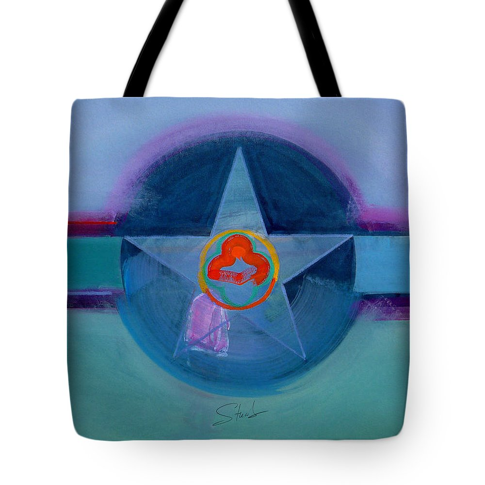 Star Tote Bag featuring the painting American Spiritual by Charles Stuart