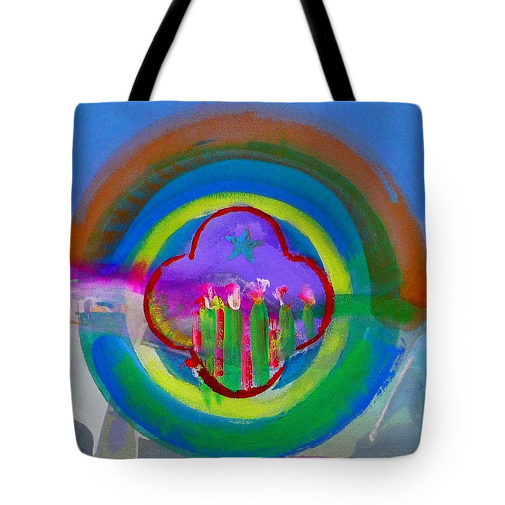 Love Tote Bag featuring the painting American Spring by Charles Stuart