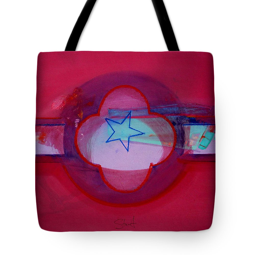 Star Tote Bag featuring the painting American Star Of The Sea by Charles Stuart