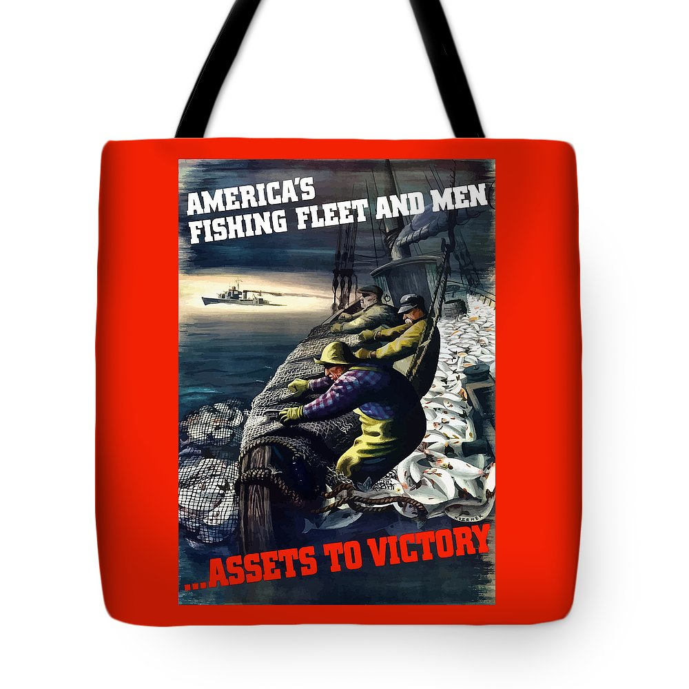 Commercial Fisherman Tote Bags