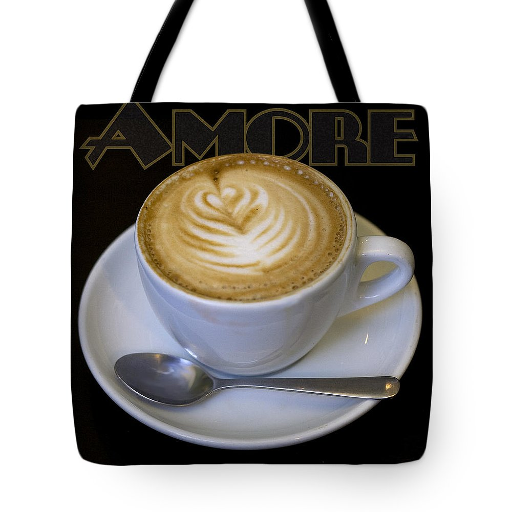 Coffee Tote Bag featuring the photograph Amore Poster by Tim Nyberg