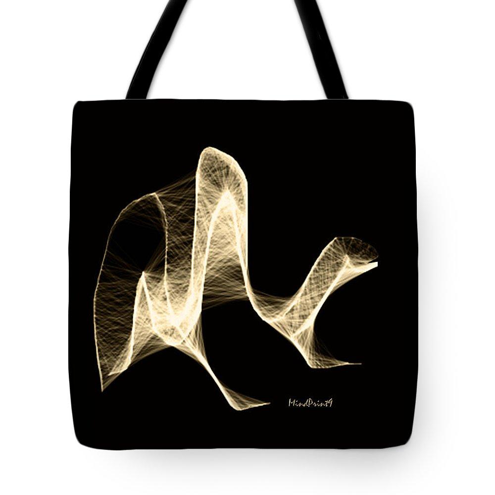 Amphibians Tote Bag featuring the digital art Amphibian by Asok Mukhopadhyay