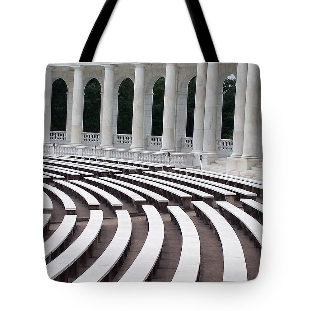Amphitheatre Tote Bag featuring the photograph Amphitheatre by Vijay Sharon Govender