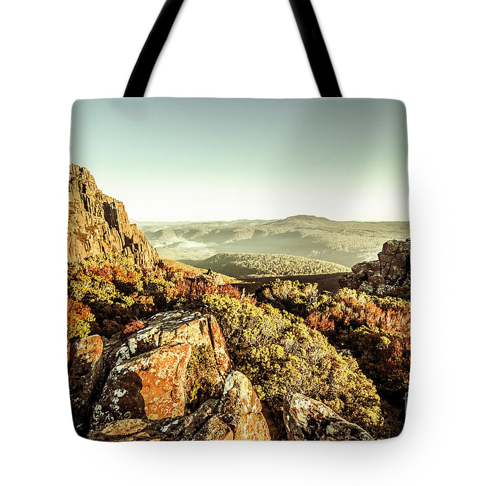 Mountain Tote Bag featuring the photograph An Alpine Morning by Jorgo Photography - Wall Art Gallery