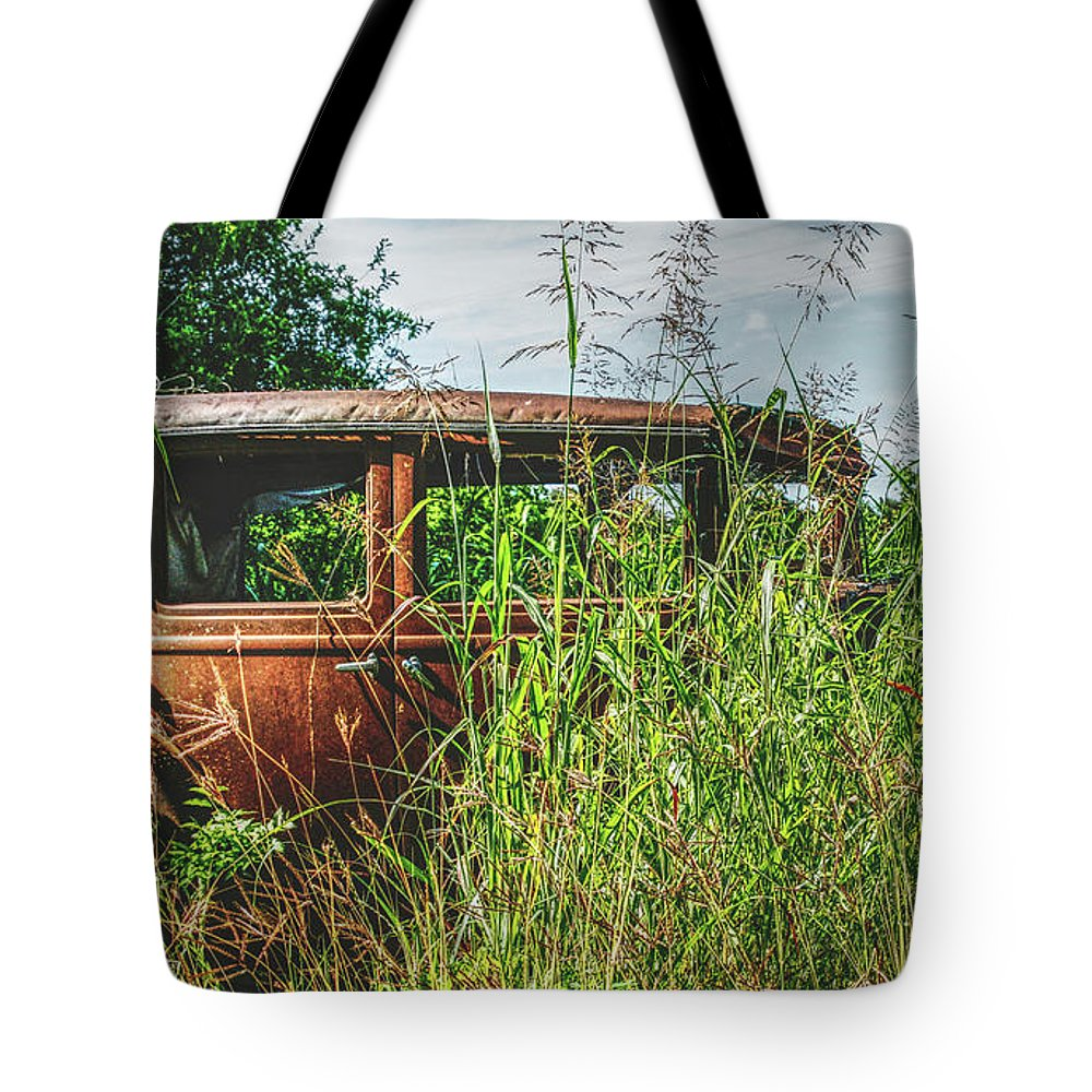 Landscapes Tote Bag featuring the photograph An Era Gone by Robert Clark