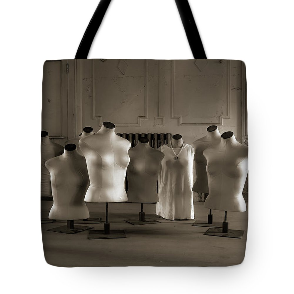 Ansonia Tote Bag featuring the photograph An Evening At The Opera #2 by Laszlo Gyorsok