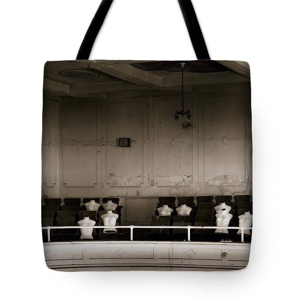 Ansonia Tote Bag featuring the photograph An Evening At The Opera #3 by Laszlo Gyorsok