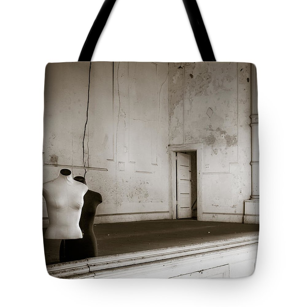 Old Tote Bag featuring the photograph An Evening At The Opera by Laszlo Gyorsok