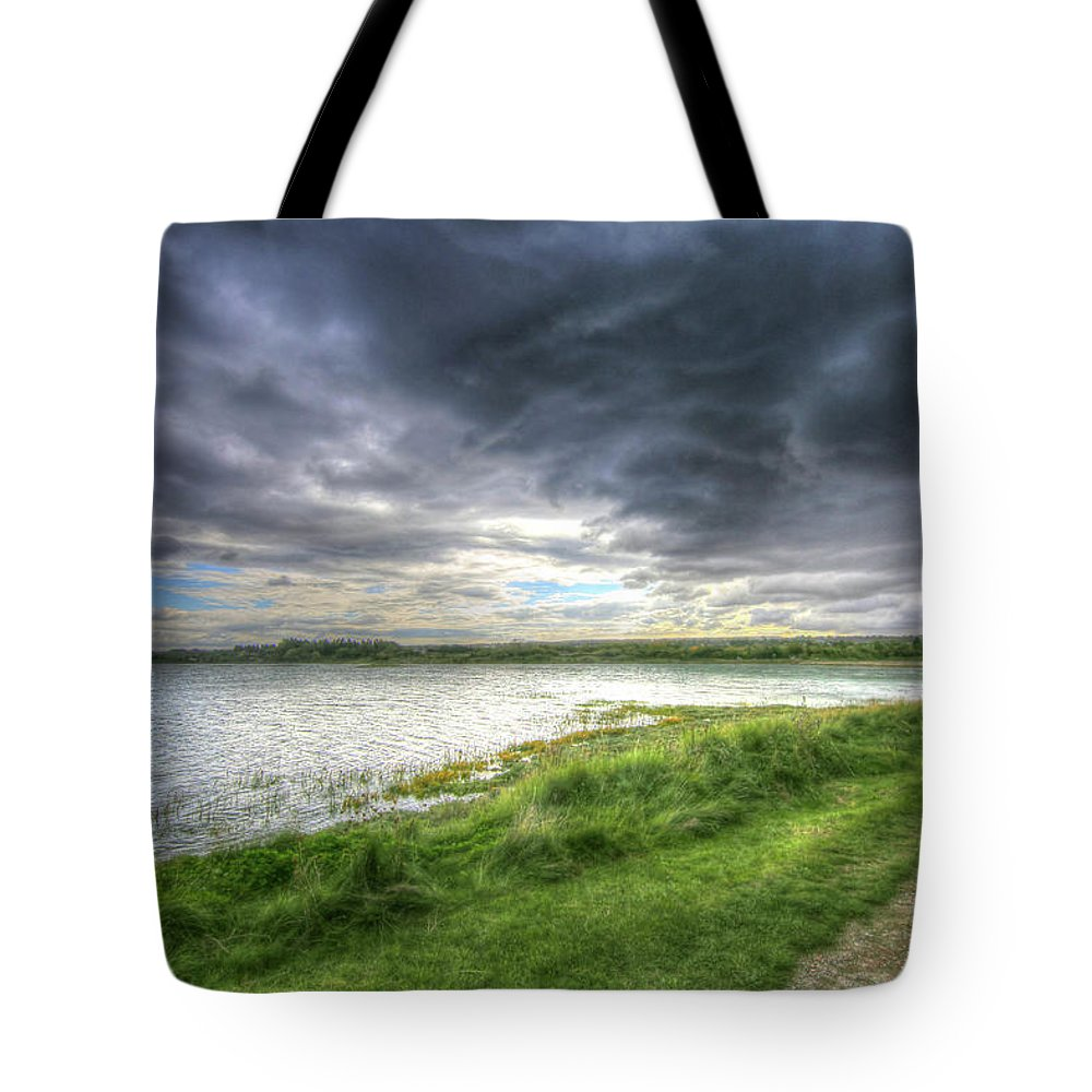 Sky Tote Bag featuring the photograph An Ordinary British Sky by Zahra Majid