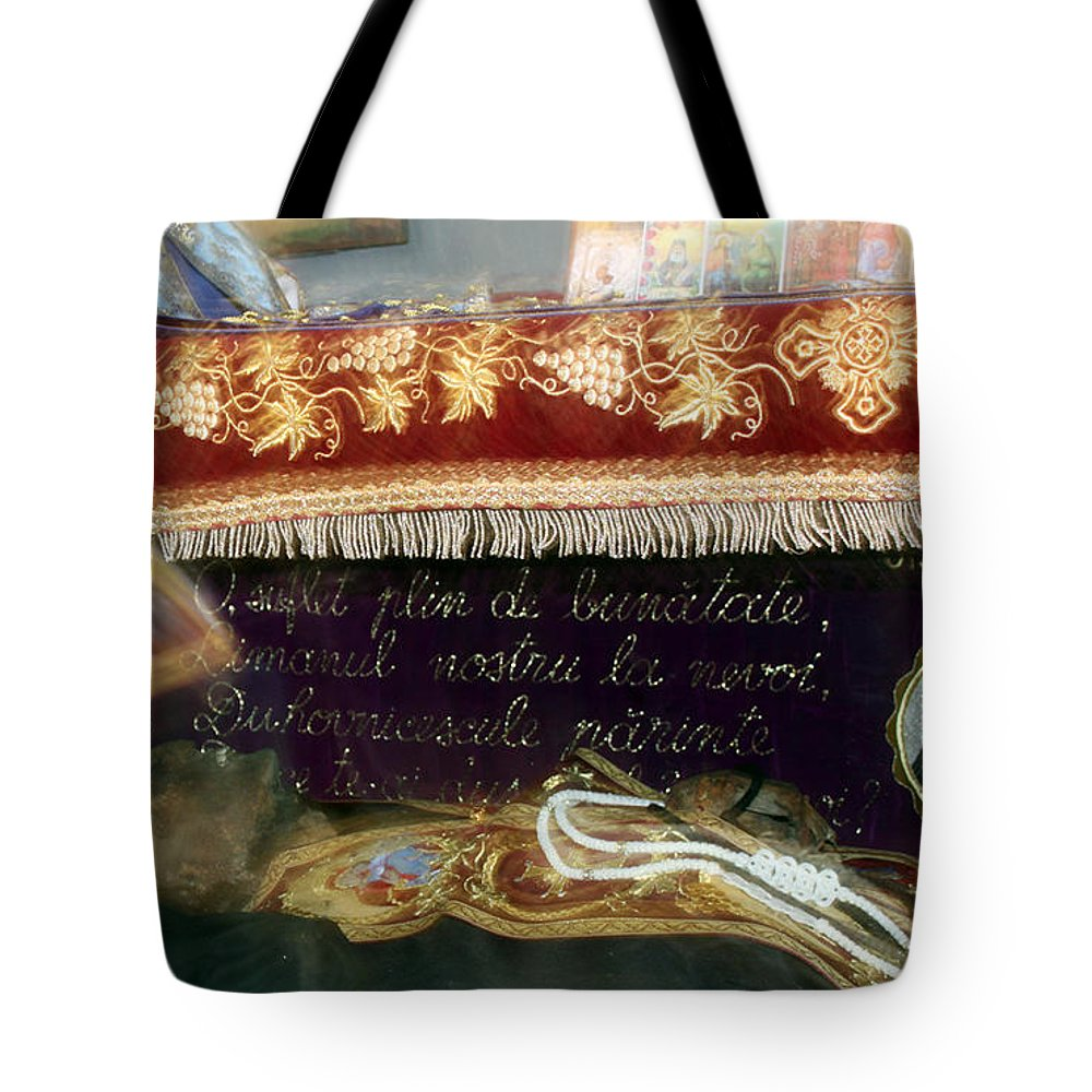 Orthodox Tote Bag featuring the photograph An Orthodox Monk by Munir Alawi