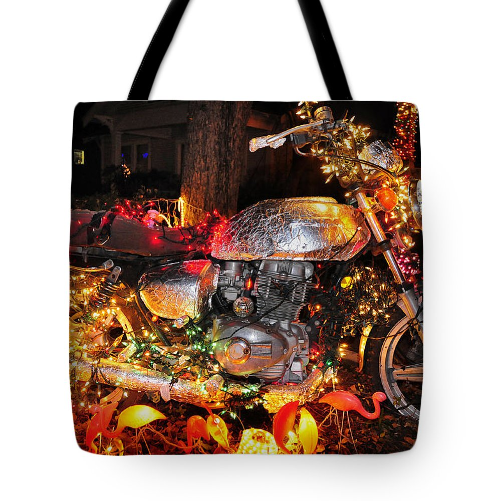 Skip Hunt Tote Bag featuring the photograph An Xmas Miracle by Skip Hunt