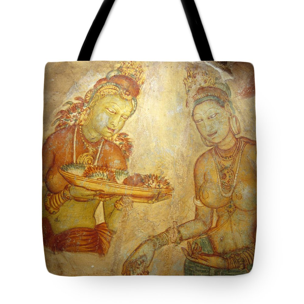 Ancient Cave Wall Paintings Depicting Tote Bag for Sale by Jason Edwards
