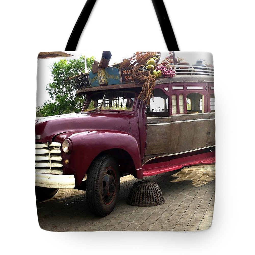 Ancient Vehicle Tote Bag featuring the photograph Ancient Gold by Piety Dsilva