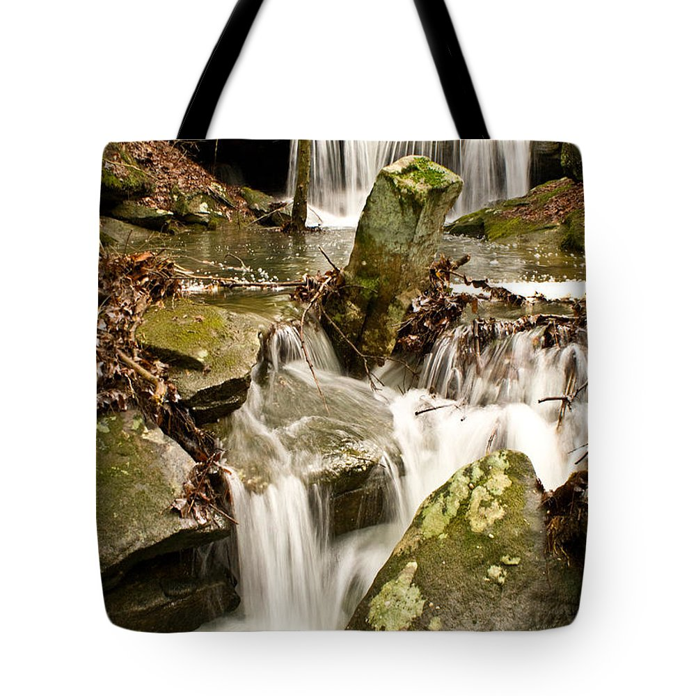 Stream Tote Bag featuring the photograph Ancient Stream by Douglas Barnett