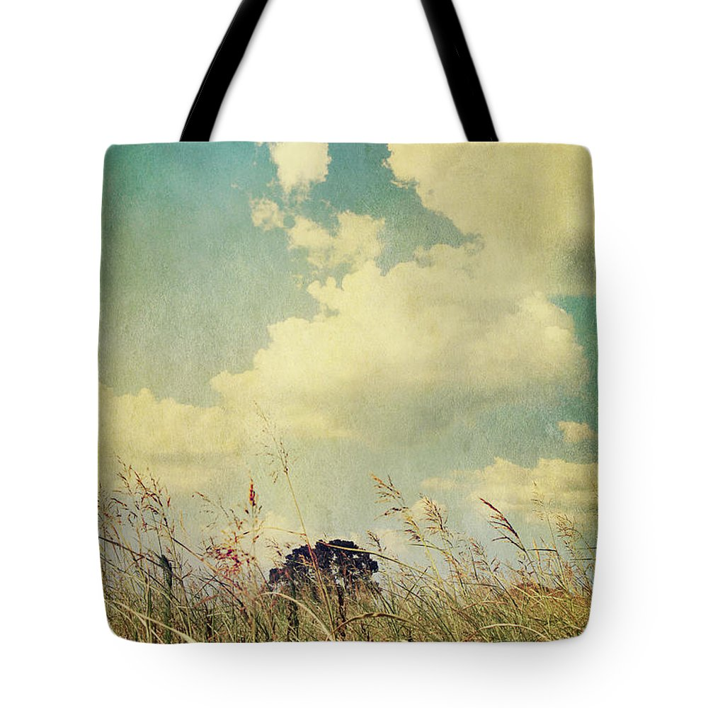 Clouds Tote Bag featuring the photograph And The Livin's Easy by Laurie Search