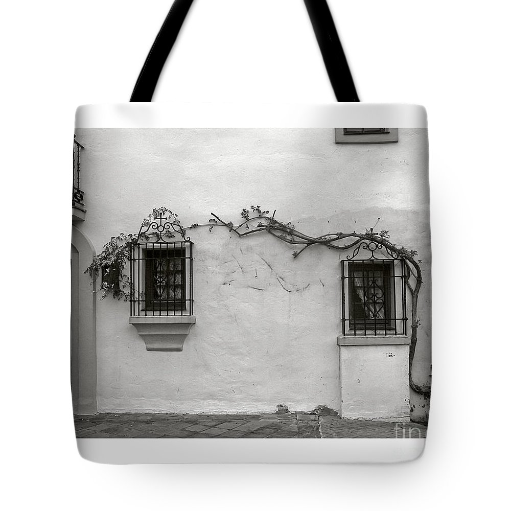 Andalucia Tote Bag featuring the photograph Andalucia Wall by Thomas Marchessault