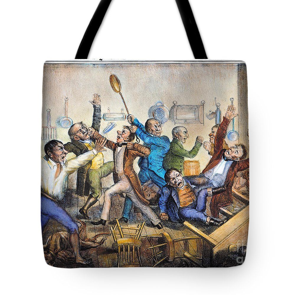 1833 Tote Bag featuring the photograph Andrew Jackson (1833) by Granger