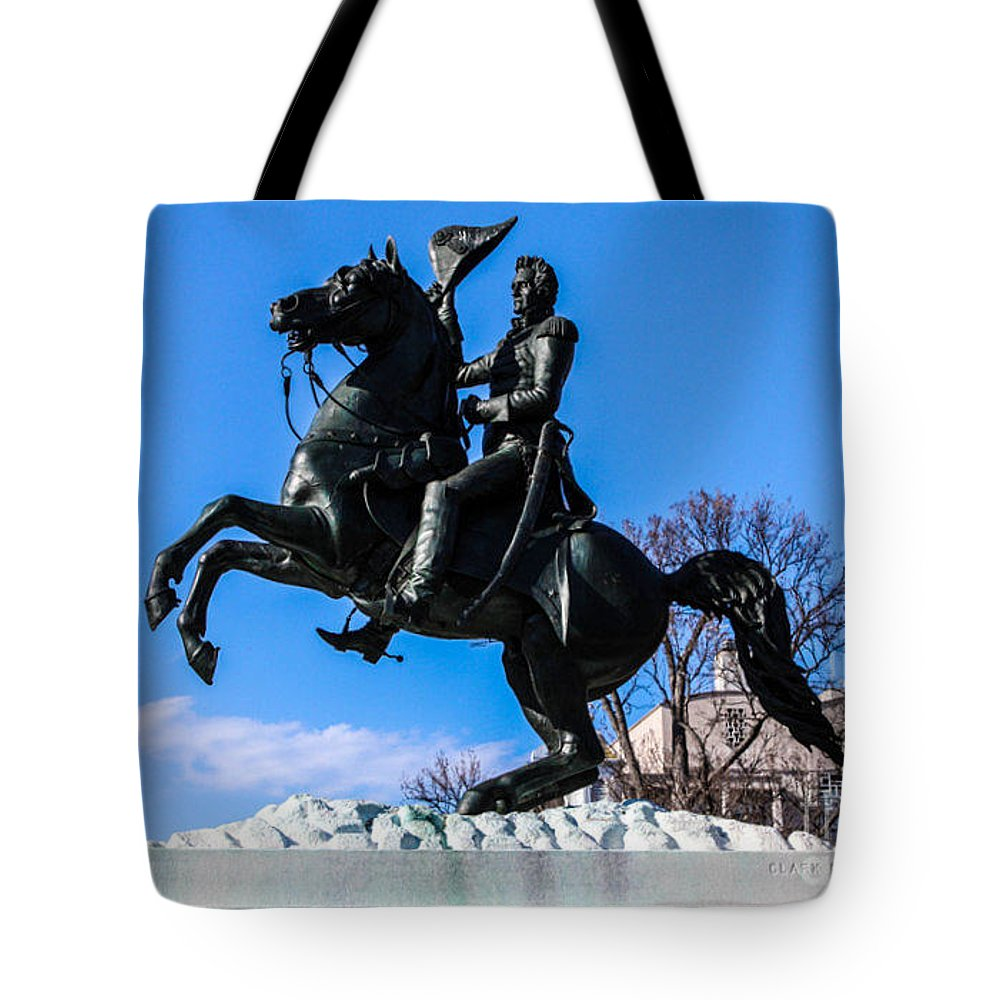 Washington Dc Tote Bag featuring the photograph Andrew Jackson by William Rogers
