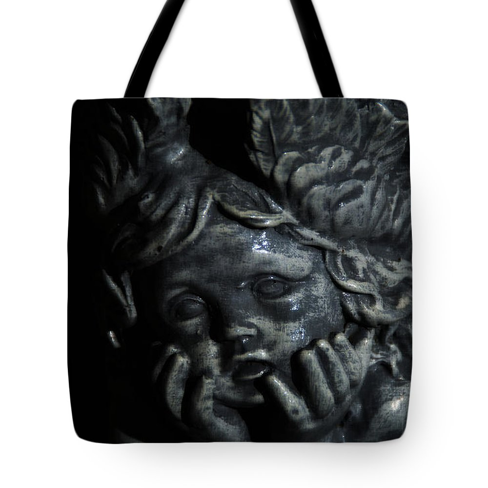 Angel Tote Bag featuring the photograph Angel Child by Linda Shafer
