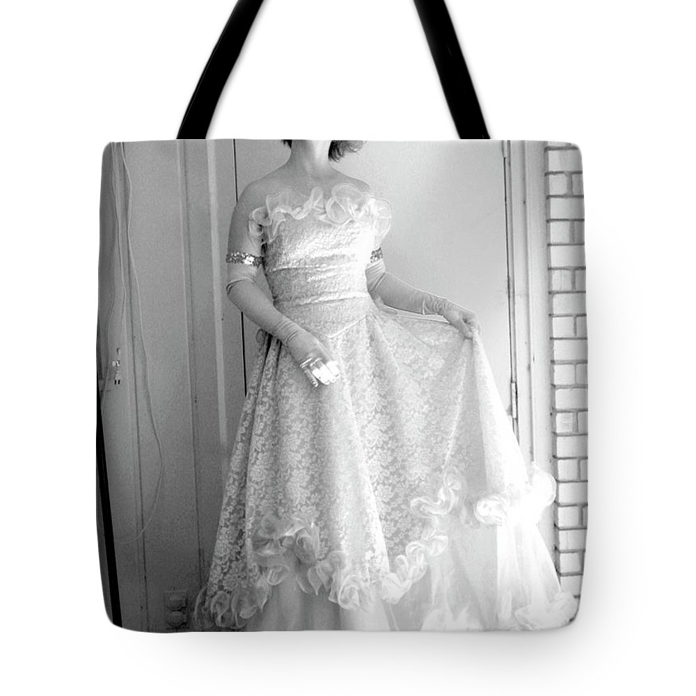 Angel Tote Bag featuring the photograph Angel In My Backyard by James W Johnson