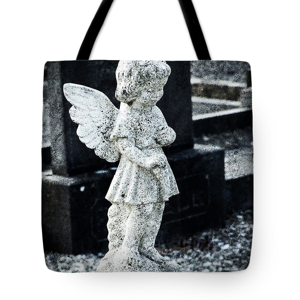 Ireland Tote Bag featuring the photograph Angel In Roscommon No 3 by Teresa Mucha