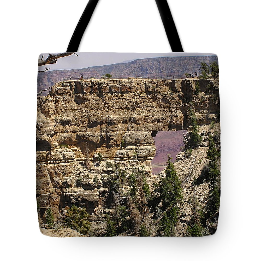 Grand Canyon Tote Bag featuring the photograph Angel by Louise Magno