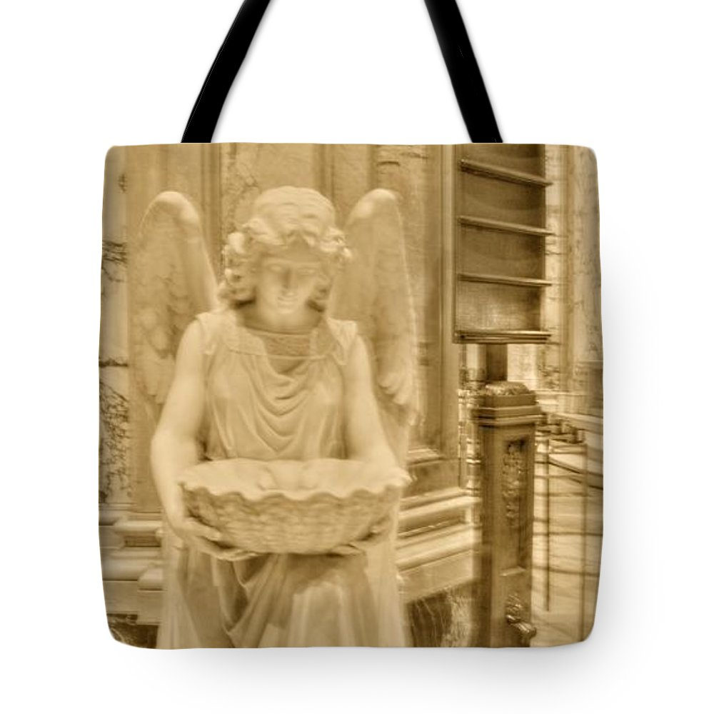 Angel Tote Bag featuring the photograph Angel Of Love by Kathleen Struckle