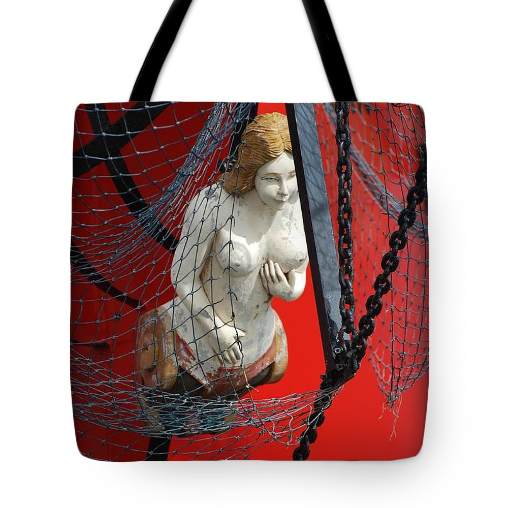 Ship Tote Bag featuring the photograph Angel Of The Seas by Rob Hans