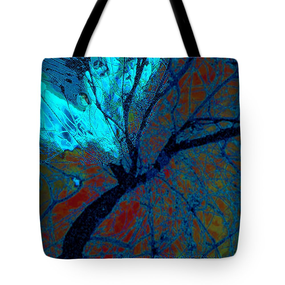 Peace Tote Bag featuring the digital art Angel by Zsanan Narrin