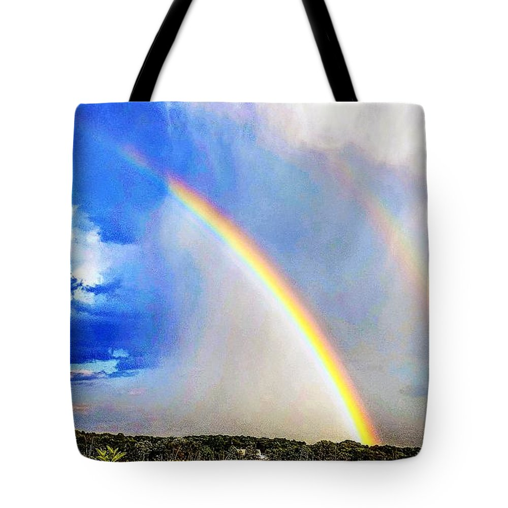 Angels Tote Bag featuring the photograph Angelic Towing by Erin Brady