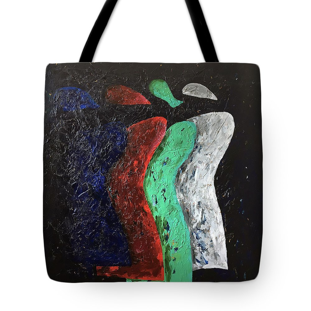 Painting Tote Bag featuring the painting Angels Have Feelings Too by Chris Torre