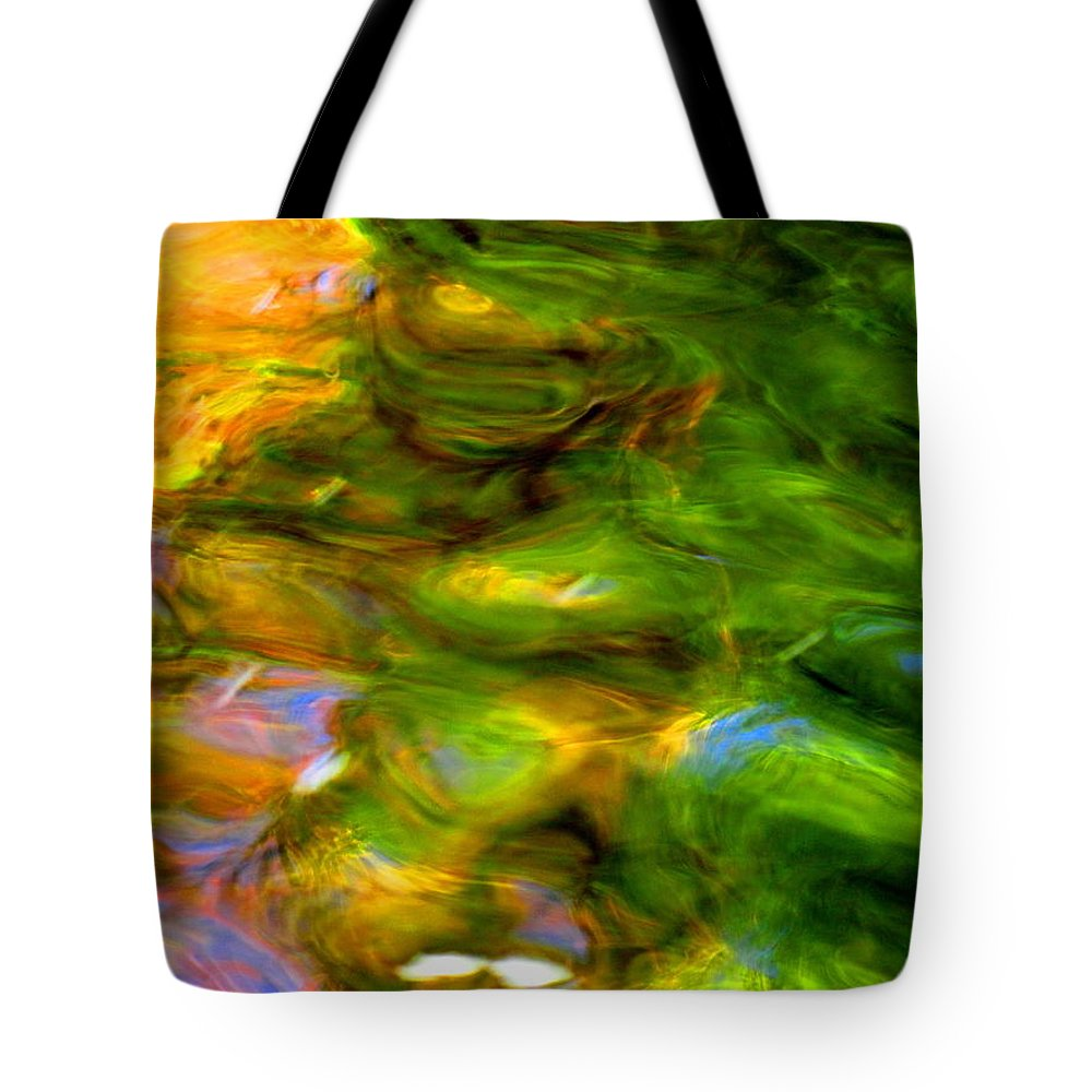 Abstract Tote Bag featuring the photograph Angels Are Always Near by Sybil Staples