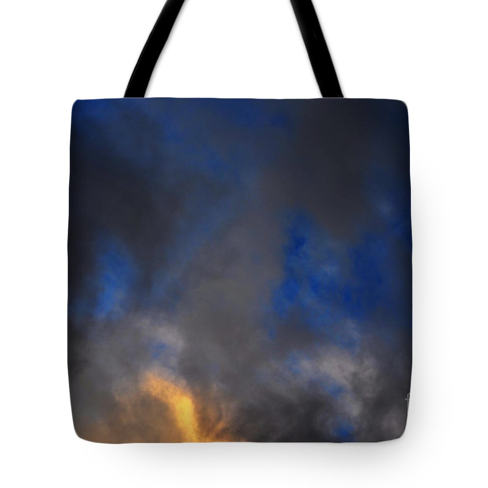 Clay Tote Bag featuring the photograph Angry Sky by Clayton Bruster