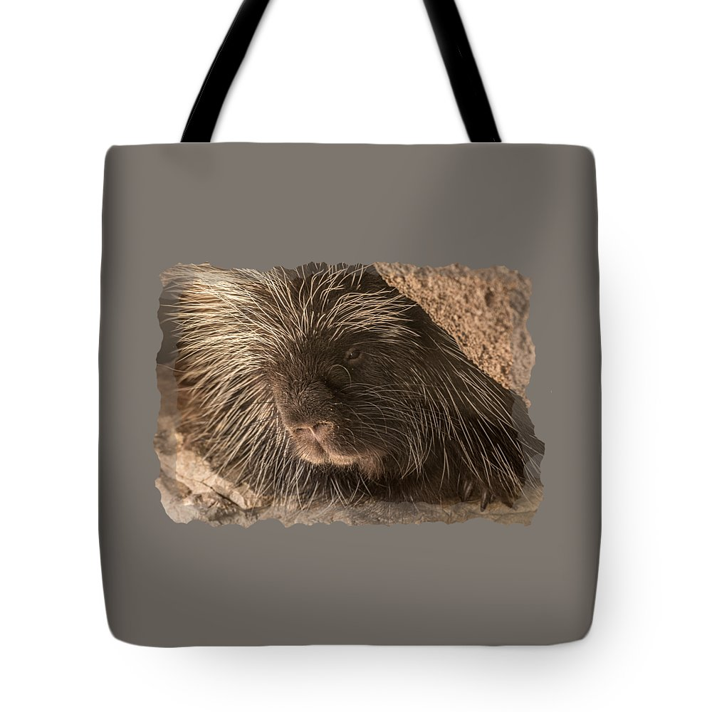 Tote Bag featuring the photograph Animal T-shirt - A by Larry White