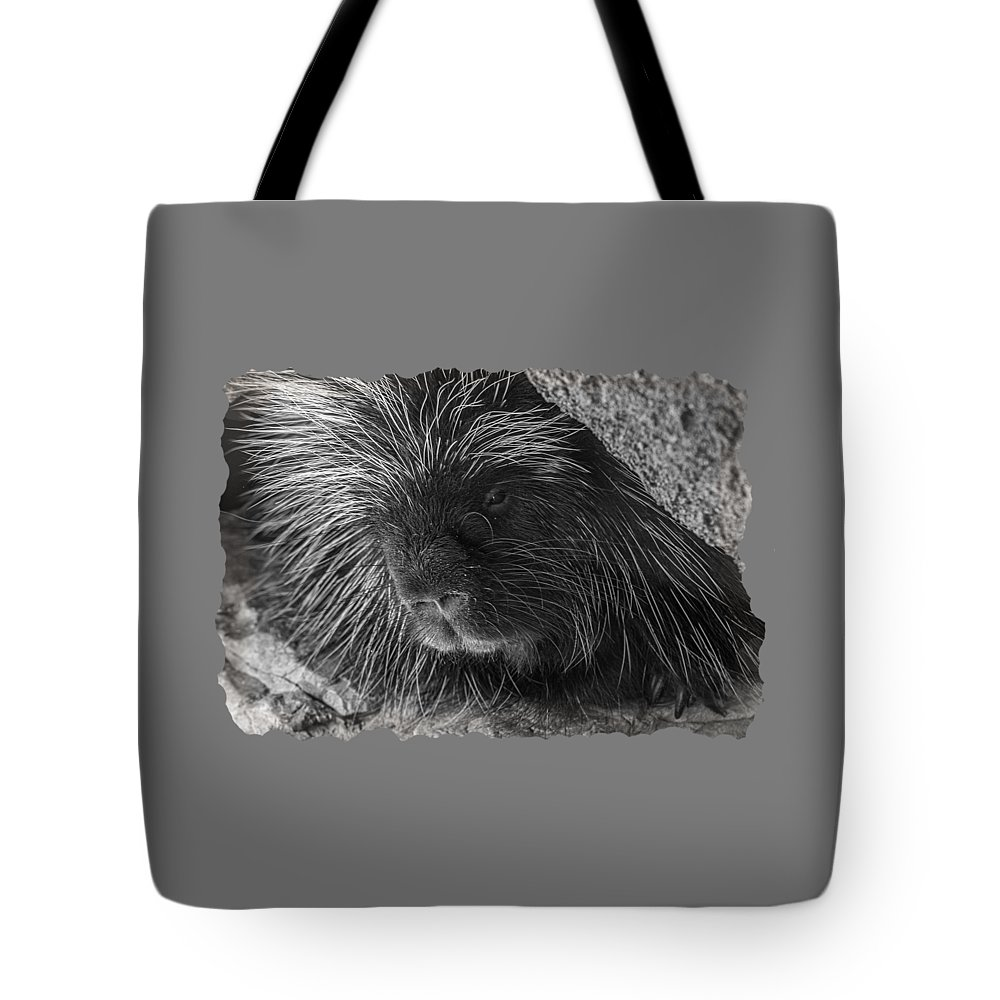 Tote Bag featuring the photograph Animal T-shirt - B by Larry White