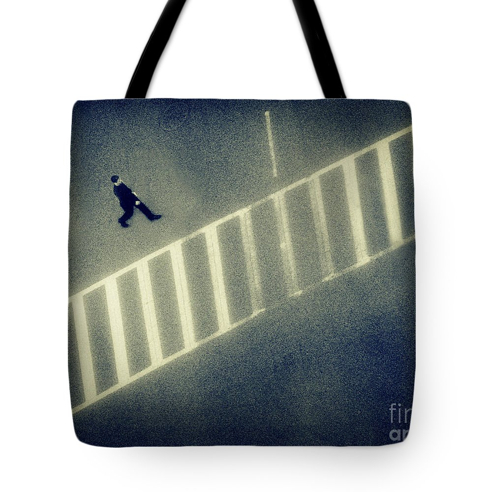 City Tote Bag featuring the photograph Anonymity by Dana DiPasquale