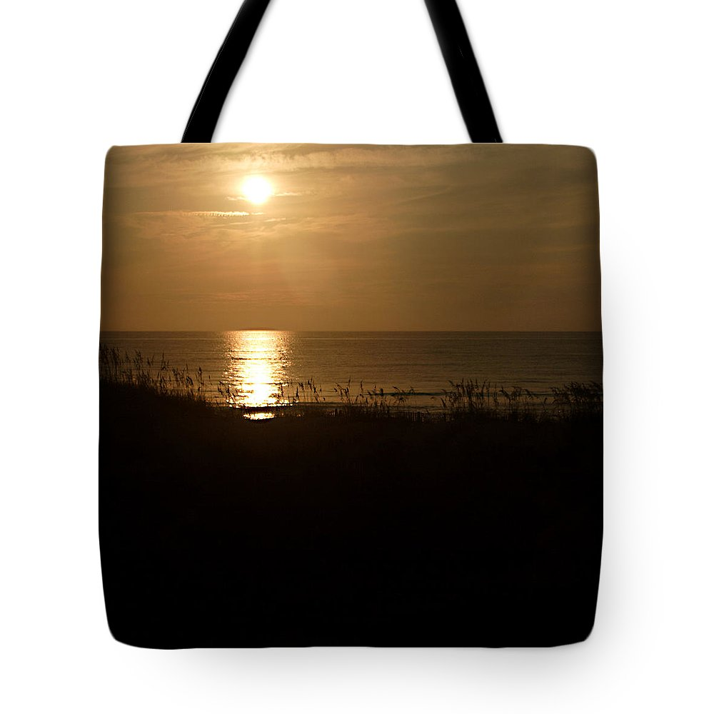 Color Tote Bag featuring the photograph Another Day Ends by Jean Macaluso