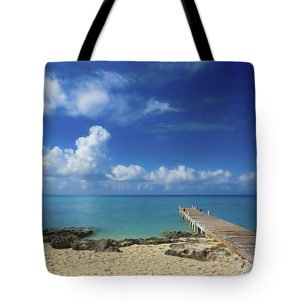 Cozumel Tote Bag featuring the photograph Another Day In Paradise by Tom Mc Nemar