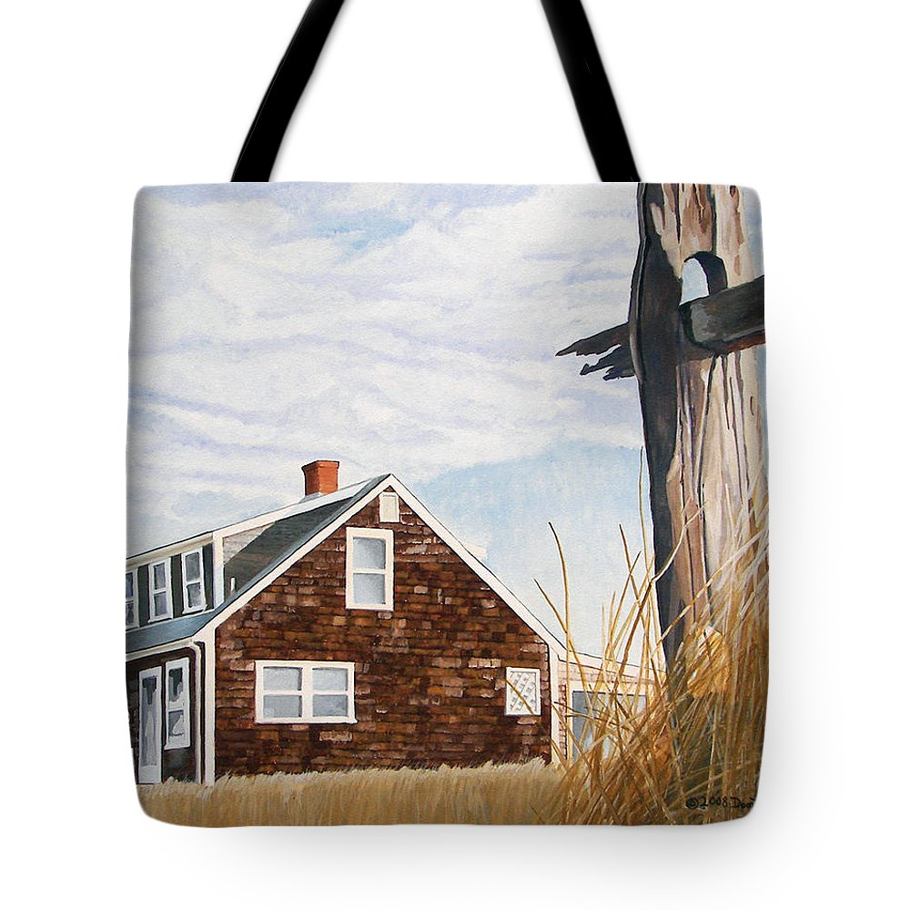 Landscape Tote Bag featuring the painting Another New England Sunrise by Dominic White