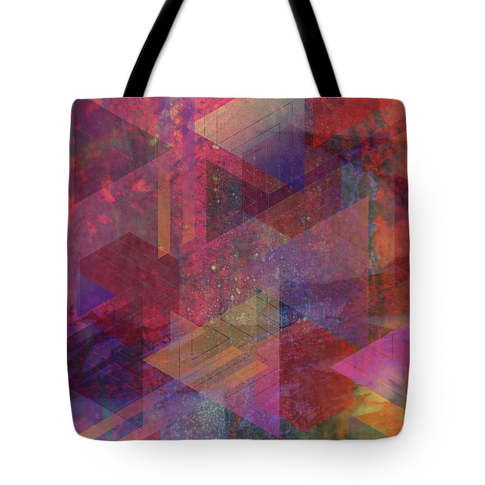 Another Place Tote Bag featuring the digital art Another Place by John Beck