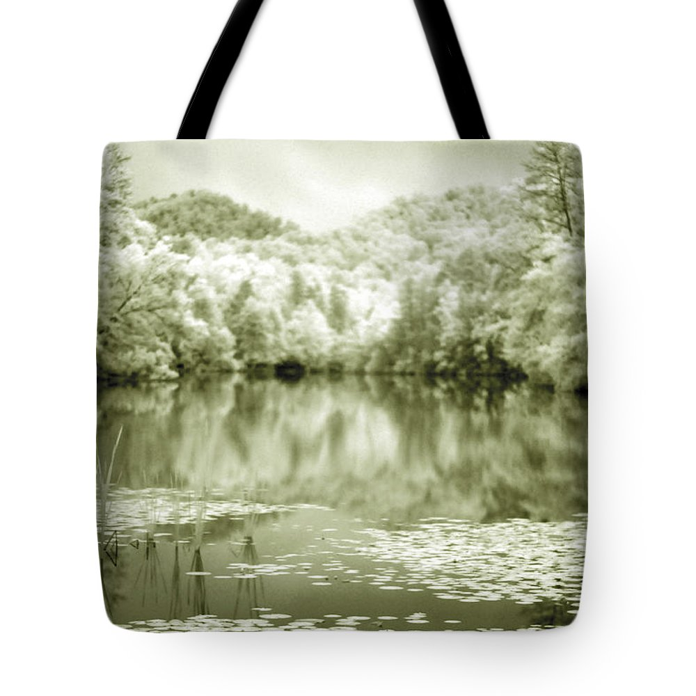 Infrared Tote Bag featuring the photograph Another World by Alex Grichenko