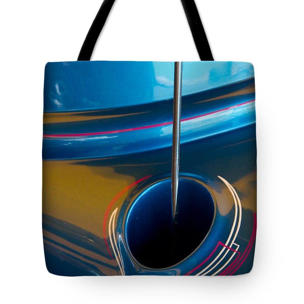 Car Tote Bag featuring the photograph Antenna Details by Roger Mullenhour