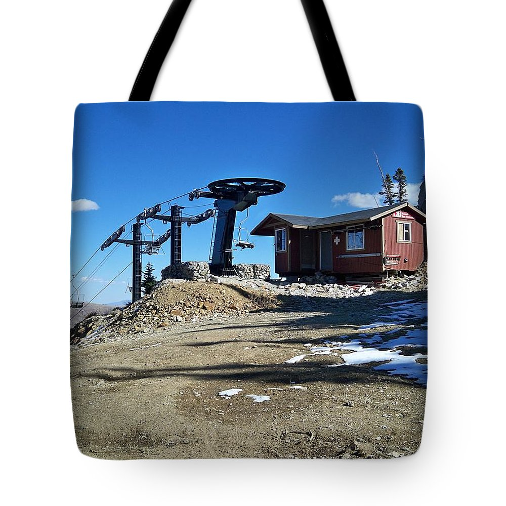 Landscape Tote Bag featuring the photograph Anticipation by Michael Cuozzo