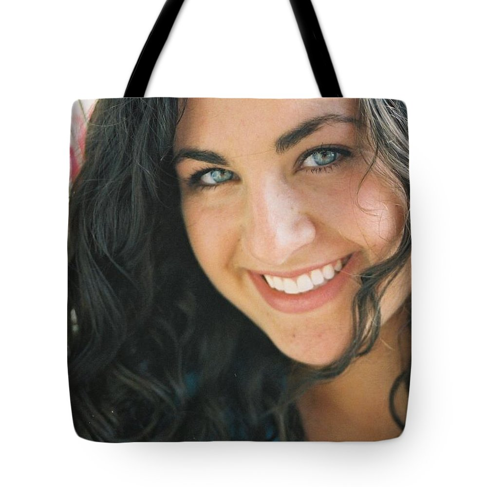 Girl Tote Bag featuring the photograph Anticipation by Nadine Rippelmeyer